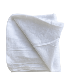 White & Organic Natural Flour Sack Towels