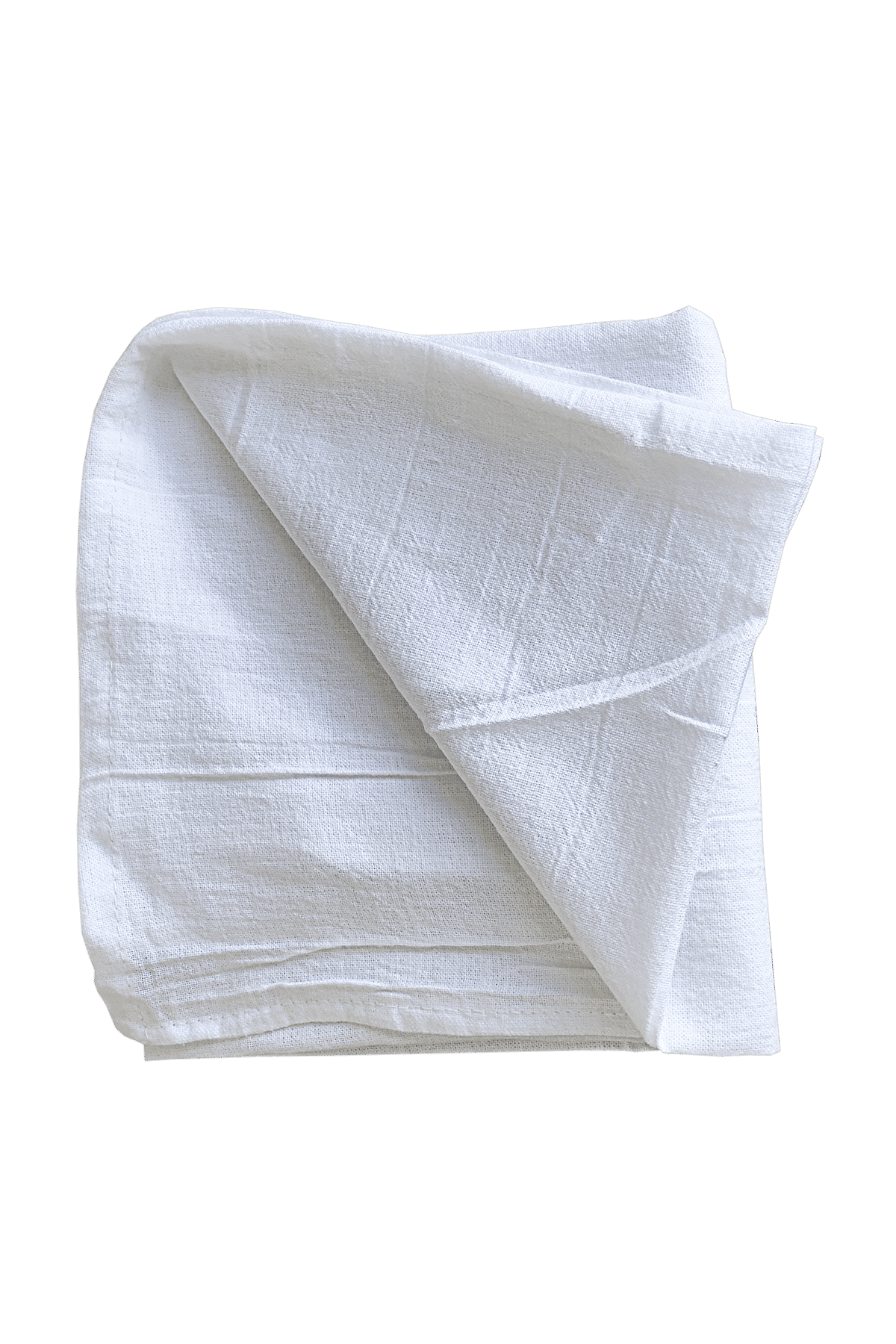 White & Natural Flour Sack Towels, Sample Pack 28 x 29 Inches, 100% Cotton