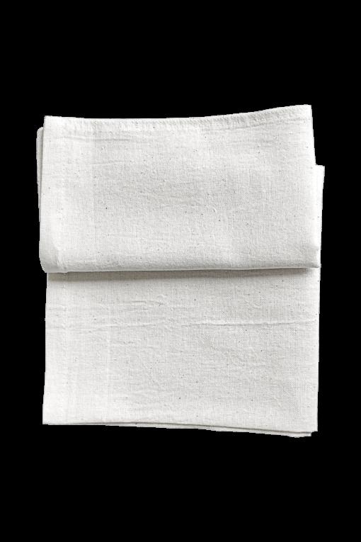 Half Folded Natural Sack Towels