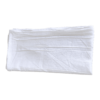 White Flour Sack Towels Flat