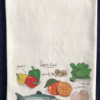 Vegetables Printed Flour Sack