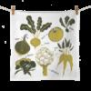 Vegetables Hand Drawn Flour Sack Towels