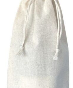 Cotton Natural Wine Bag