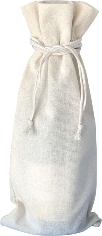 Cotton Natural Wine Bag